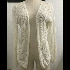 Honey Punch Crochet Cardigan